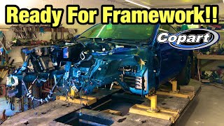 Rebuilding My Totaled Wrecked 2018 Ford Mustang GT Part 7 From Copart Salvage Auction