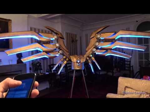 三年了玩家打造 蒼穹之翼凱爾翅膀 全電子化