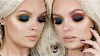 Colorful Fall Makeup Tutorial - Anastasia Subculture Palette