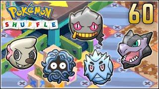 Banette  - (Pokémon) - Pokémon Shuffle S Rank 60 - WOMBO COMBO CON BANETTE & VS MEGA AERODACTYL