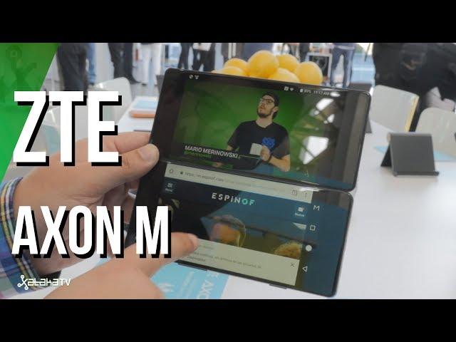 ZTE Axon M, así es el smartphone plegable con doble pantalla. Primeras impresiones
