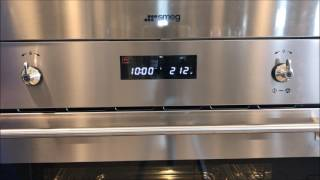 Smeg Steam Oven Instructions/ Tutorial SU45VCX1, SCU45VCS1