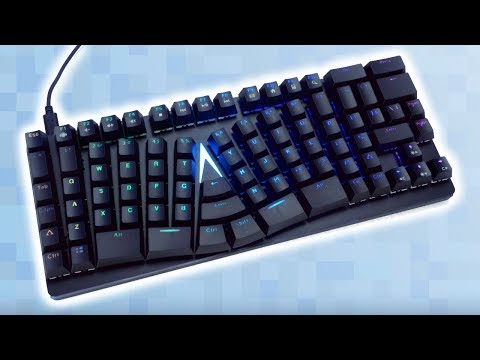 A New Kind of Ergonomic Mechanical Keyboard?