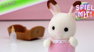 Sylvanian families deutsch - Schokoladenhasen Baby Rosi - Chocolate Rabbit Familie Sylvanian 3410