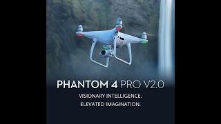 DJI Phantom 4 Pro V2.0 4K Camera 1-inch 20MP Exmor R CMOS Sensor 7KM FPV 30mins Flight Time RC Drone