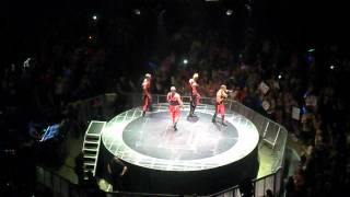 GO HARDER JLS AT THE O2 ON 21ST APRIL 2012