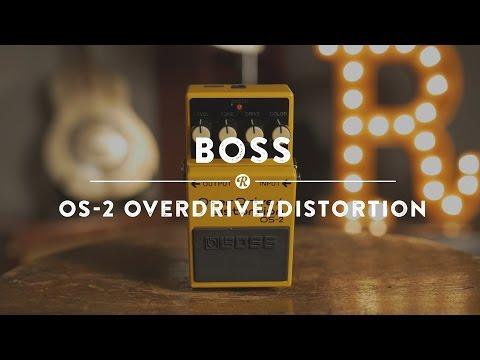 BOSS OS 2 Kytarový efekt