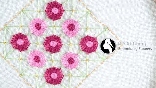 Flower Stitch By Diy Stitching Free Video Search Site Findclip
