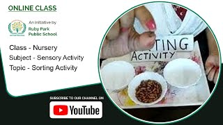 Nursery | Sorting Activity | Sensory Activity | Sorting of Pulses | Ruby Park Public School Thumbnail