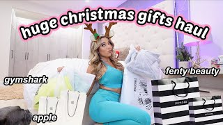 HUGE LAST MINUTE CHRISTMAS GIFTS HAUL! Day in the life working as a youtuber