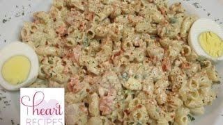 Dinner for two : Tuna Macaroni Pasta Salad | I Heart Recipes