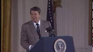 Compilation of President Reagan's Humor from Selected Speeches, 1981-89