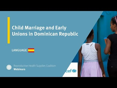 Child Marriage and Early Unions in Dominican Republic