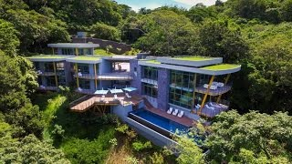 Luxury Modern Home Design with the Glass Tube Concept   Casa Magayon