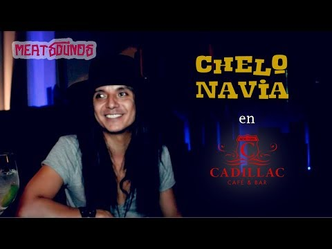 Chelo Navia en Cadillac Cafe & Bar / Cochabamba