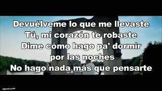 Devuélveme Ozuna Letra #ozuna #devuelveme #aura