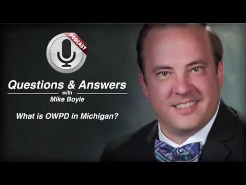 video thumbnail What is OWPD in Michigan