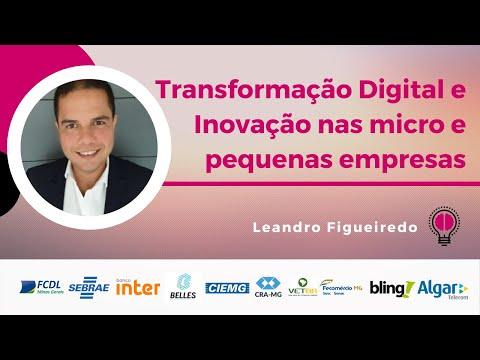 Transformação Digital e Inovação nas micro e pequenas empresas | Leandro Figueiredo