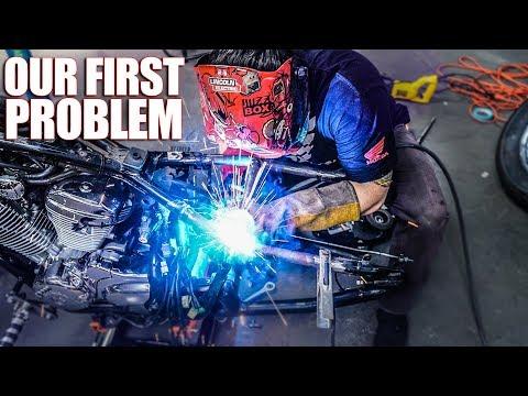 Making the Hardtail - Honda Shadow Bobber Build | Ep  2