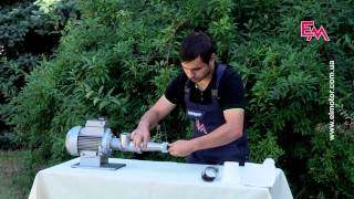 Универсальный пресс для сока ТШМ-2, электрический от компании Интернет-магазин САЛЛИ. BY - видео