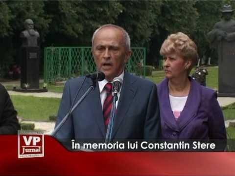 În memoria lui Constantin Stere