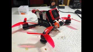Como funciona e como é montado um drone fpv freestyle