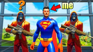 I Pretended to be SUPERMAN in Fortnite
