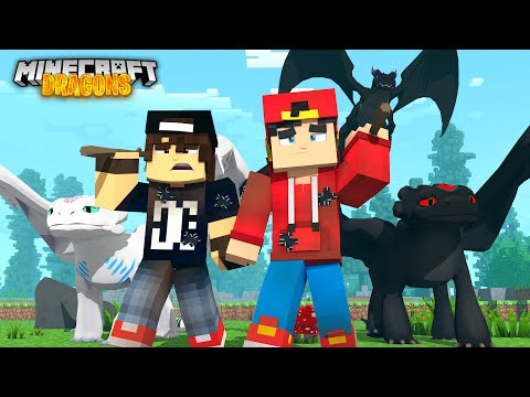Minecraft DRAGONS - ROPO, JACK & THEIR DRAGONS ARE HOMELESS!!