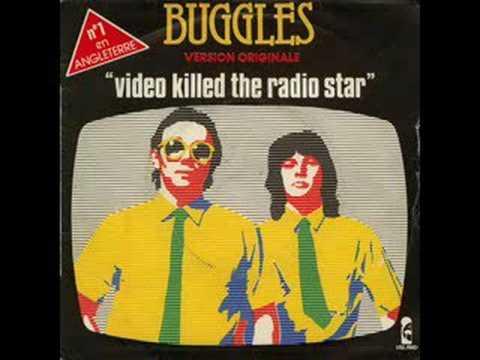 The Buggles, Video Killed The Radio Star (With Lyrics)