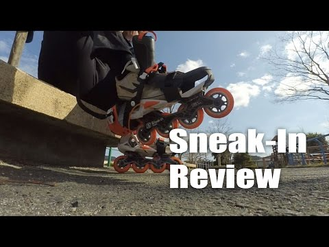 Oxelo Sneak-In inline skates review 2016