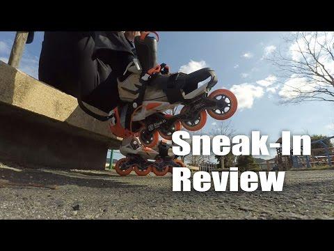 Oxelo Sneak-In inline skates review 2016