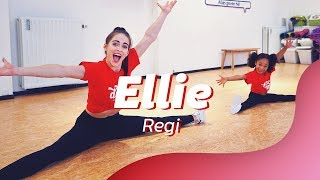 ELLIE   REGI  Ft. Jake Reese | Easy Kids Dance Video | Choreography
