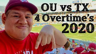 OU vs Texas 4 Overtime's 2020 Red River Rivalry