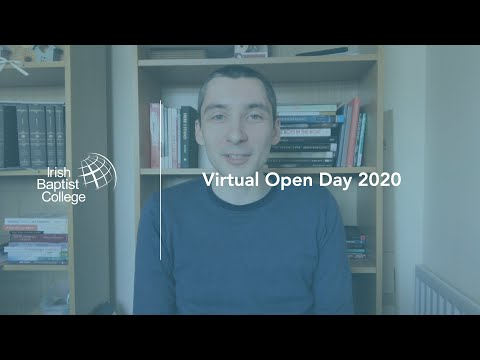 IBC Video: Virtual Open Day // Davy Ellison - Tutor