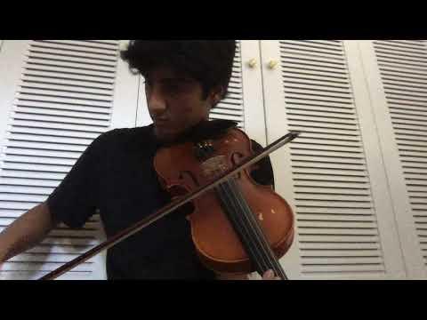 Sankarabharanam Alapana on Violin