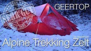 GEERTOP Alpine Trekking Zelt im Test.
