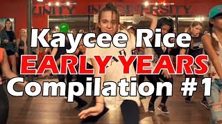 Kaycee Rice - Early Years Dance Compilation - Part 1