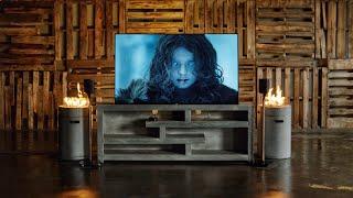 Minimal Game of Thrones Inspired TV Setup!