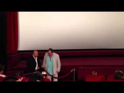 Жерар Депардье на премьере фильма в Марселе.