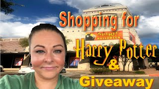 SHOPPING FOR HARRY POTTER COSTUMES AT SPIRIT HALLOWEEN SHOP & GIVEAWAY | Sept. 2019