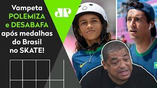 'Isso foi um absurdo!' Olha contra o quê Vampeta desabafou após medalhas do Brasil nas Olimpíadas!