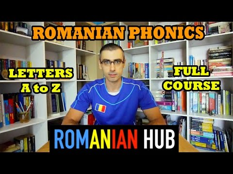 Learn Romanian Phonics Lessons: Complete Alphabet Course