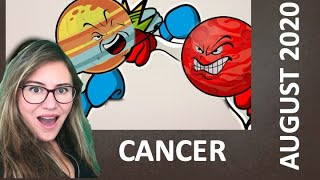 CANCER August 2020. The WAR Of The PLANETS Begins! CHANGES In Career & Relationships NECESSARY!