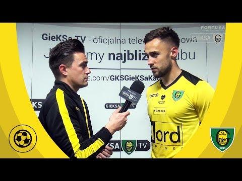 Rafał Remisz po meczu GKS Katowice - Stomil Olsztyn