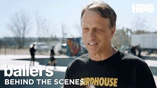 BTS: Travis Pastrana, Tony Hawk & More | Ballers | Season 4 - Video Youtube