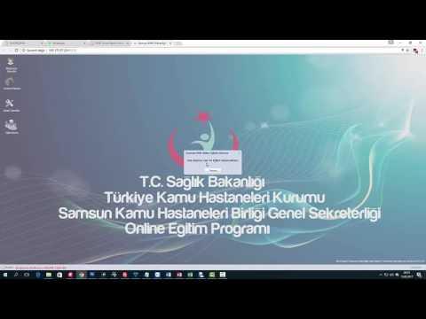 Samsun KHB Online Eğitim Modülü Tanıtım Videosu