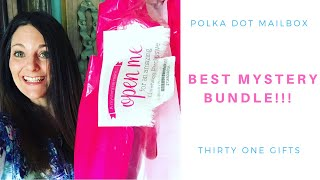 UNBOXING VIDEO!!! Thirty One Gifts Hostess Exclusive Mystery Bundle!  JUNE 2019