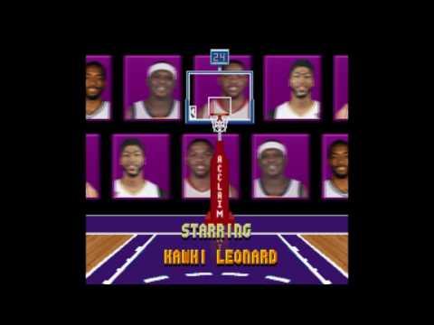NBA Jam 2k17 Starring Screen