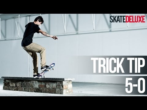 5-0 Grind (FS & BS) | Consejos para trucos de skate | Español/Spanish | skatedeluxe