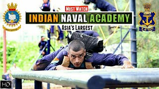 Indian Naval Academy - Asia's Largest Naval Academy | Amazing Facts About INA Ezhimala (Hindi)